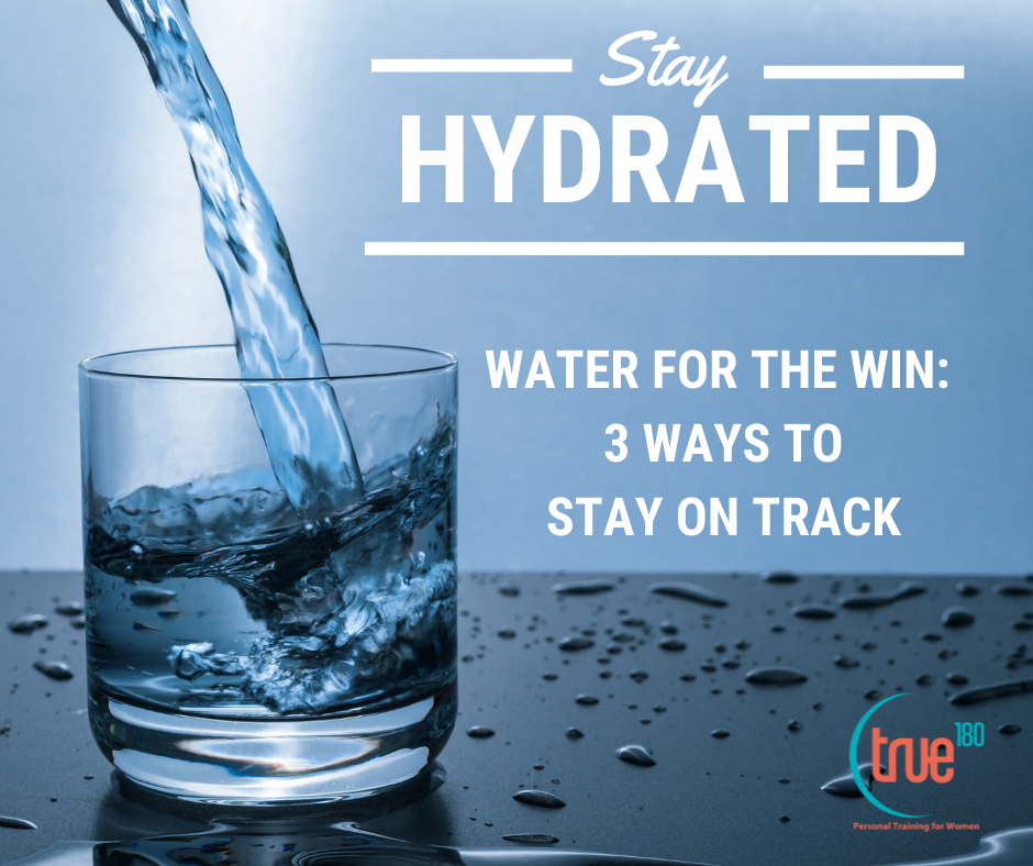 Water for the Win: 3 Ways to Stay on Track with Water marketing