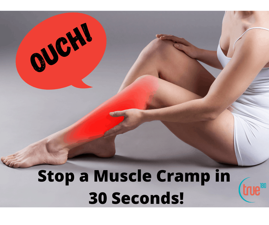 How to Stop a Cramp in a Flash